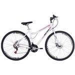 Bicicleta Mormaii Aro 29 Fantasy 21v Disk Brake - Branca