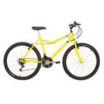 Bicicleta Mountain Bike Mormaii Aro 26 Jaws - Amarelo Skol.