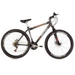 Bicicleta Mountain Bike Mormaii Aro 29 Jaws Disk Brake com Suspensão - Preto