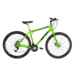 Bicicleta Mountain Bike Mormaii Aro 29 Jaws Disk Brake - Verde Neon
