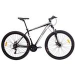 Bicicleta MTB Aro 29 21V Alumínio Quadro 17 Câmbio Shimano Rhino Branca