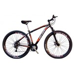 Bicicleta MTB ECOS ONIX Aro 29 24Marcha Freio Disco Câmbios Shimano 8vel
