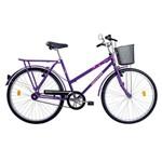 Bicicleta Onix C/ Cesta Vb Violeta