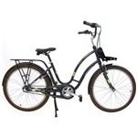 Bicicleta Retrô Vintage Anthon Alumínio Aro 26 Grafite