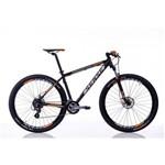 Bicicleta Rock Aro 29 Freio Disco Hidraulico Câmb Shimano Altus 24 Veloc Preto/laranja - Sense