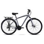 Bicicleta Tito Down Town Disc Aro 700 Cinza