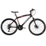 Bicicleta TK 480 PO Aro 26 Freios a Disco Track & Bikes - Preto/Laranja