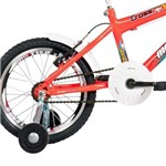Bicicleta Top Lip Cross Aro 16 Aero Laranja Neon - Mormaii