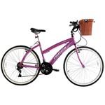 Bicicleta Track Week 200 Plus Aro 26 Alumínio 21 Marchas - Pink Metálico