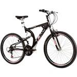 Bicicleta Track Xk400 Aro 26 Alumínio 21 Marchas - Preto