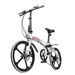 Bicicleta Two Dogs Pliage Alloy Branca