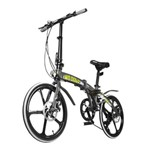 Bicicleta Two Dogs Pliage Alloy Cinza