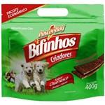Bifinho para Cães Powerdog Criadores Churrasco 400 G