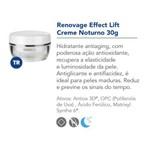 Bioage Renovage Effect Lift Creme Facial Antiidade Noturno