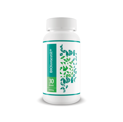 Biointestil – Saúde Intestinal 30 Doses - 600 Mg 60 Cápsulas