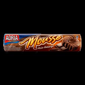 Biscoito Adria Mousse Recheado Chocolate Meio Amargo 150g