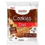Biscoito Cookies Diet Cappuccino Avelã 150g - Jasmine