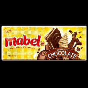 Biscoito Mabel Wafer Recheado Chocolate 115g