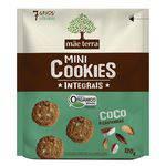 Biscoito Mãe Terra Orgânico Integral Coco e Castanhas 120g