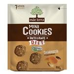 Biscoito Mãe Terra Orgânico Integral Diet Damasco e Castanhas 120g