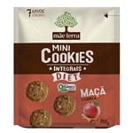 Biscoito Mãe Terra Orgânico Integral Diet Maça Canela 120g