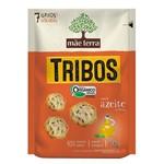 Biscoito Mãe Terra Tribos Salgado Orgânico Integral Azeite Ervas 50g