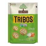 Biscoito Orgânico Tribos Sabor Cebola e Salsa Mãe Terra 50g