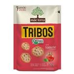 Biscoito Orgânico Tribos Sabor Tomate e Manjericão Mãe Terra 50g
