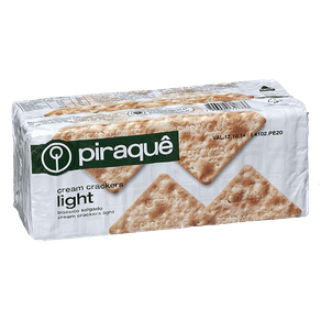 Biscoito Piraquê Cream Crackers Light 200g