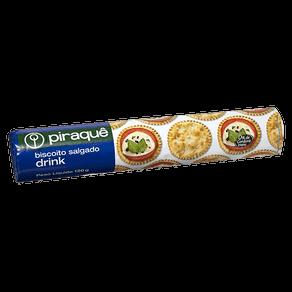 Biscoito Piraquê Drink Salgado 120g
