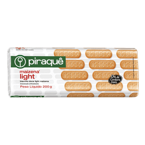 Biscoito Piraquê Maizena Light 200g