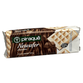 Biscoito Piraquê Newafer Recheado Chocolate 100g