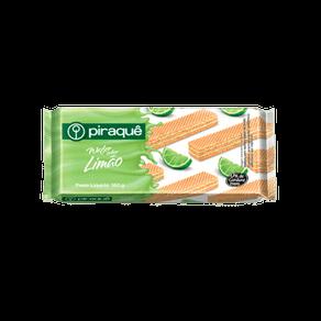 Biscoito Piraquê Wafer Recheado Limão 160g