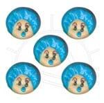 Biscuit Chuquita Bebê Azul - 5 Unid