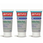 Bitufo Clinical Hálito Puro Creme Dental 50g (kit C/03)