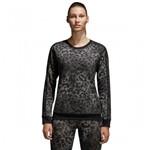 Bizz Store - Blusa Moletom Feminina Adidas Essentials