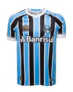 Bizz Store - Camisa Oficial Masculina Umbro Grêmio 2018 Torcedor