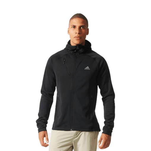 Bizz Store - Jaqueta Masculina Adidas Hiking Preta Esportiva