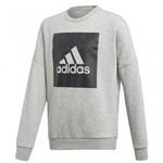 Bizz Store - Moletom Infantil Menino Adidas Logo Crew