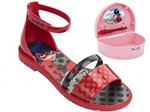 Bizz Store - Sandália Infantil Grendene Ladybug Porta Segredos