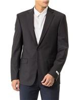 Blazer Alfaiataria Calvin Klein com 2 Botões/Mali Chumbo - 54