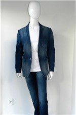 Blazer Danithais Slim Jeans Azul Tam.50