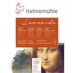 Bloco Aquarela Leonardo 600 G/m² Grain Fine 36 X 48 Cm com 10 Folhas Hahnemuhle