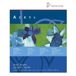 Bloco Artistico Hahnemuhle Acryl Acrylic 330g 024 X 032 Cm 020 Fls 628 130