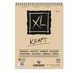 Bloco (caderno) Canson 90 Gms. Kraft Xl A-4
