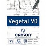 Bloco Canson Vegetal 95g A4