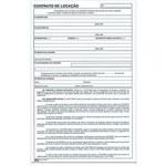 Bloco Contrato de Locação 100fls Tilibra