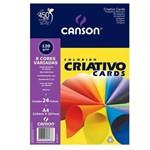 Bloco Criativo CANSON 8 Cores 24FLS A4 120GM2 (10 Unidades)
