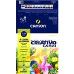 Bloco Criativo Canson Estudante 8 Cores 120 G A3 032 Fls 66667161