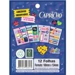 Bloco de Adesivos Decorados Capricho (293571)